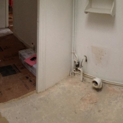 renovation douche
